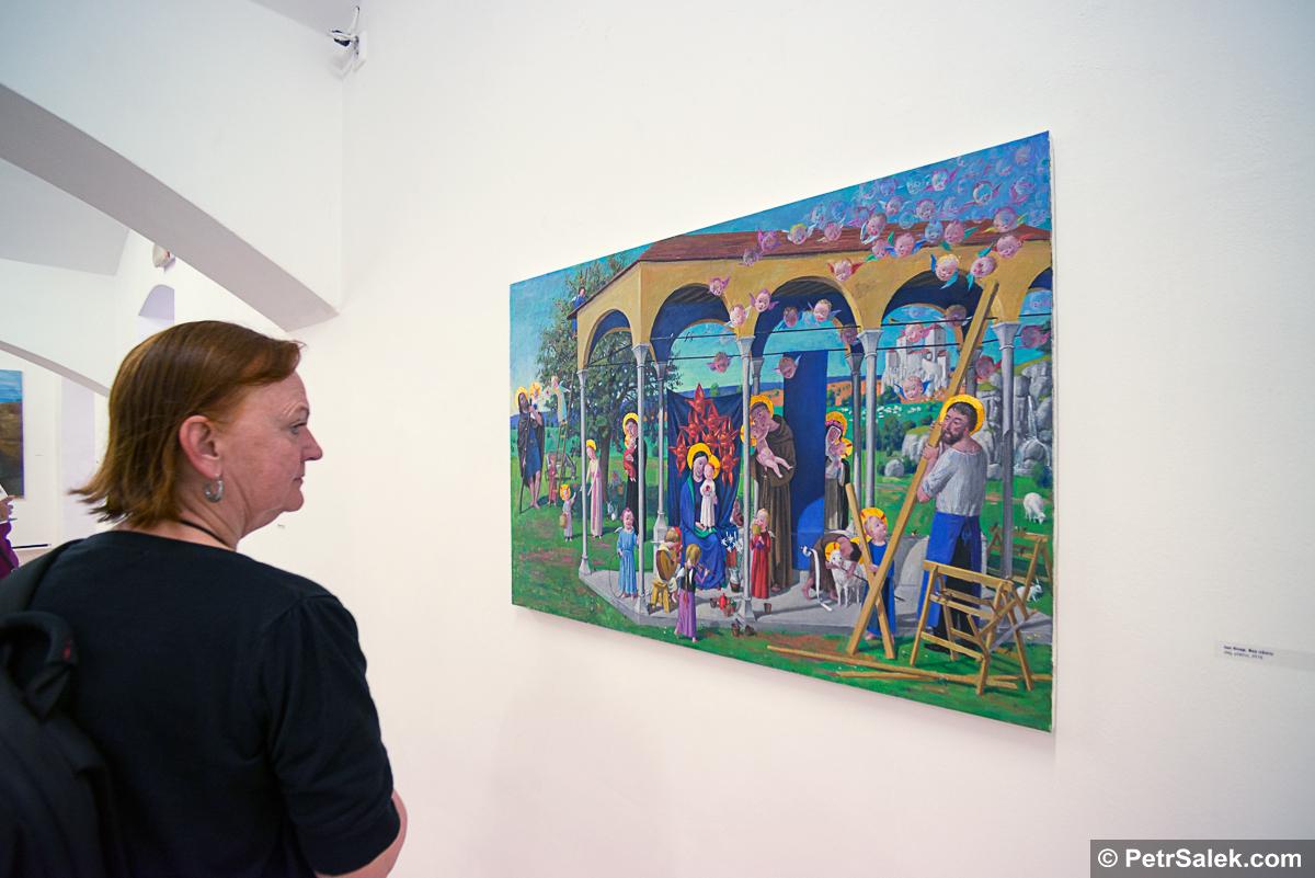 Všichni Svatí, Nová galerie, Balbínova 26 Praha 2