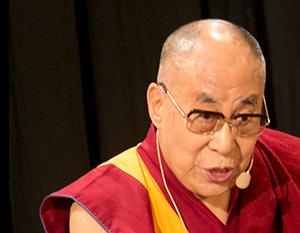 Jeho Svatost dalajlama v pražské Lucerně