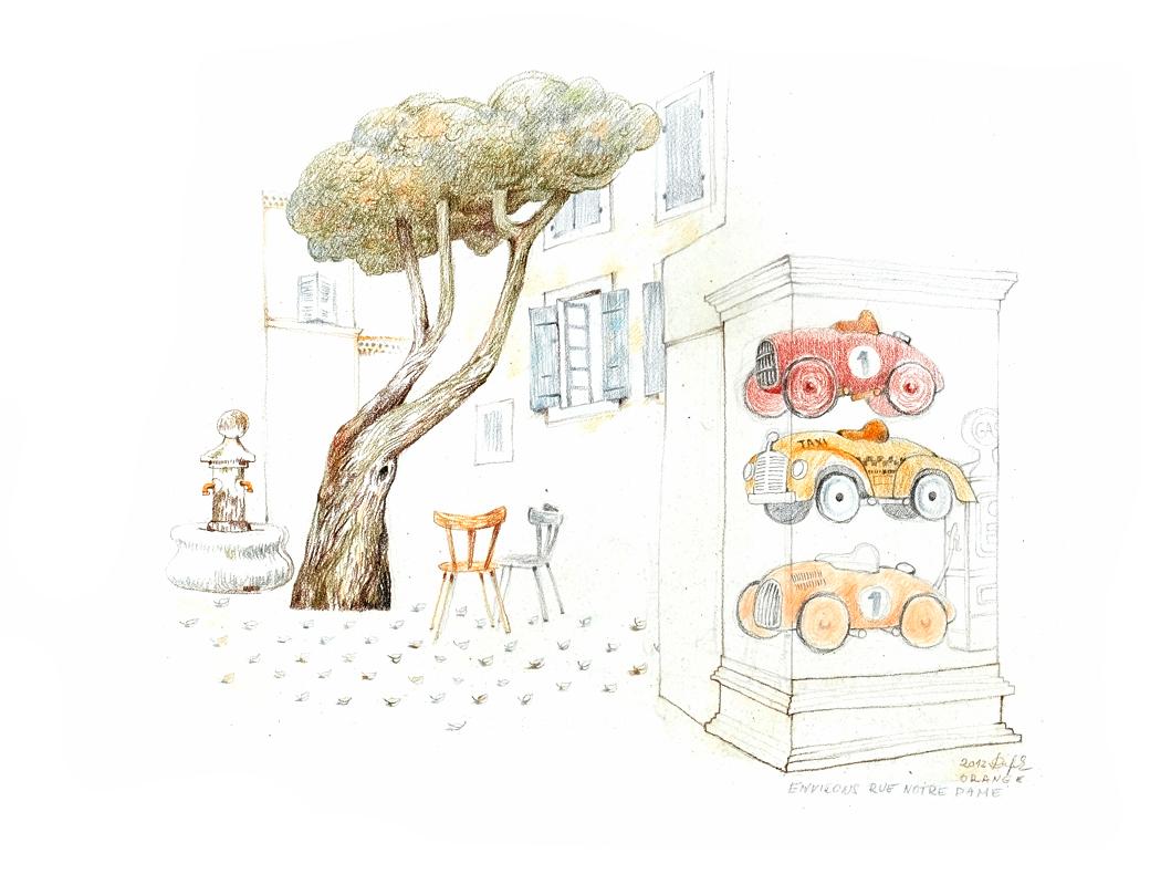 Výlet do Provence, autor Pavel Dufek