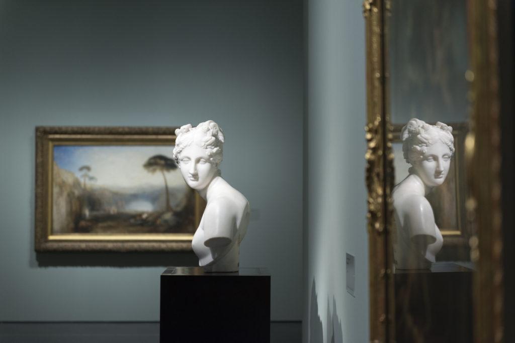 Pod italským nebem, obrazy Itálie 19.století mezi Claude Lorrainem, Turnerem a Böcklinem