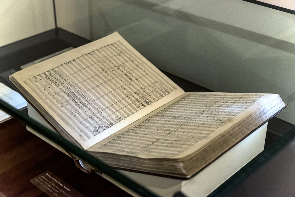 Rusalka vČeském muzeu hudby