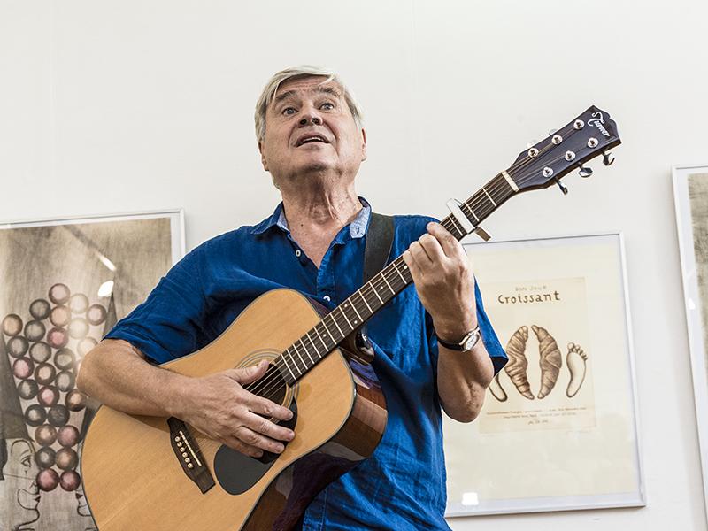 Jiří Slíva a jeho Stop Time v Galerii Hollar
