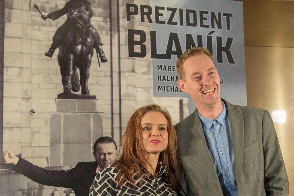 Prezident Blaník přichází do kin
