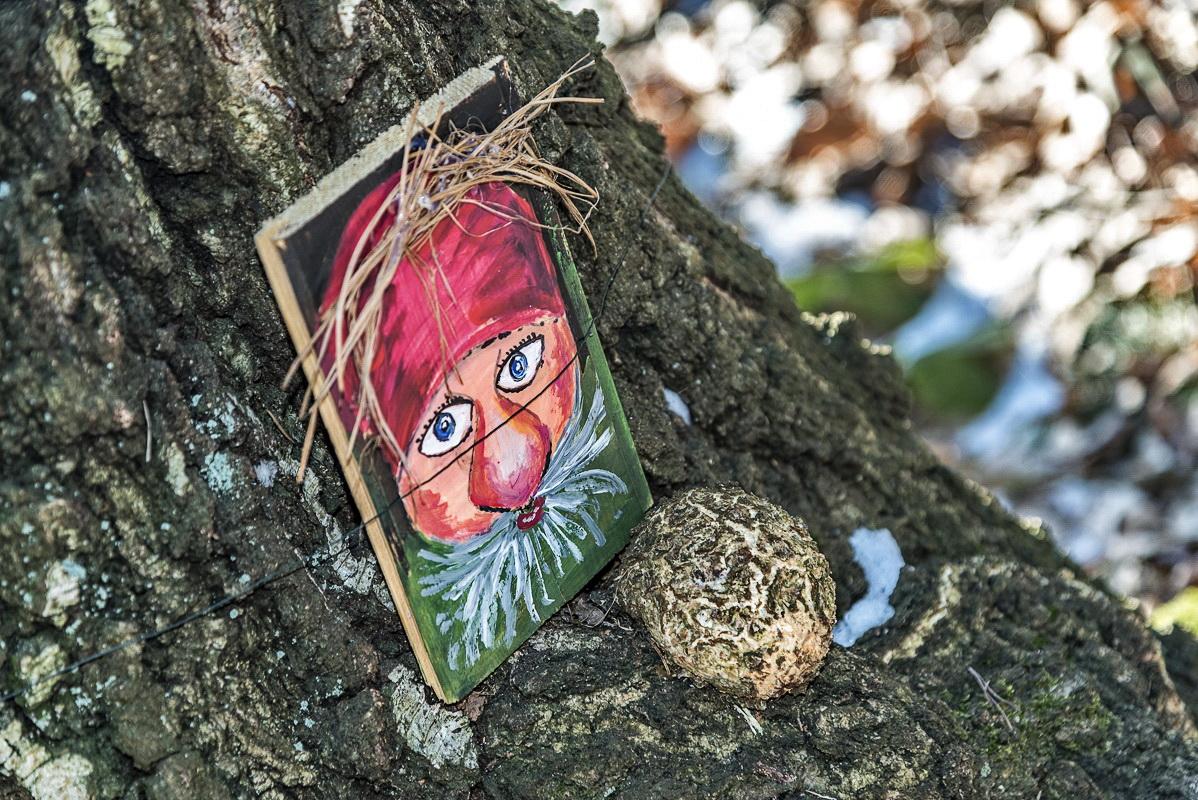 Mukařov-výstava lesních skřítků