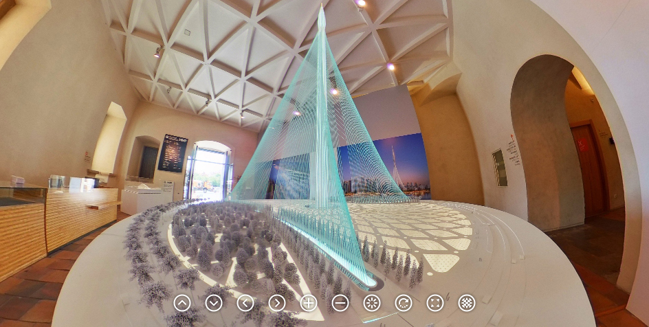 Architekt Santiago Calatrava: Art & Architecture v GHMP